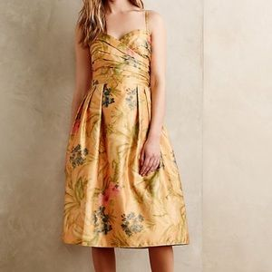 Anthropologie James Coviello Botanica Dress